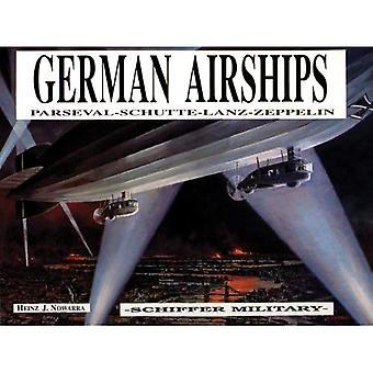 Dirigibili tedeschi: Parseval, Schutte, Lanz, Zeppelin