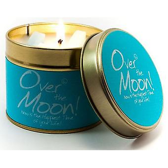 Lily Flame Geurkaars in een presentatie Tin - Over the Moon