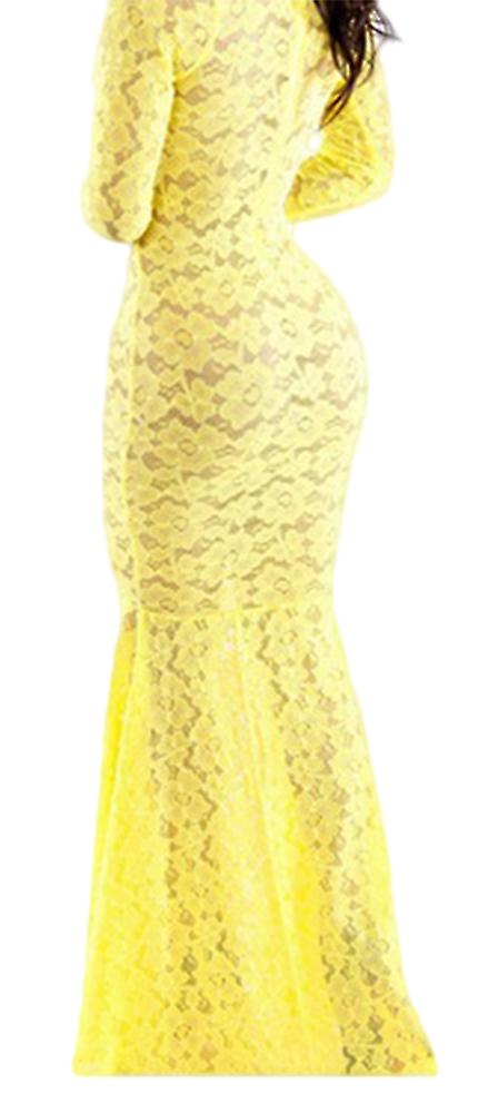 Waooh - Long Lace Dress Duda