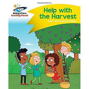 Lezen van de planeet - hulp bij de oogst - geel: komeet Street Kids (stijgende sterren planeet lezen)