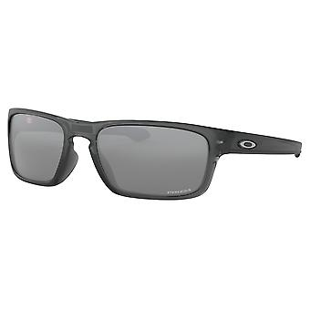 Oakley OO9408 03 Grey Smoke Sliver Stealth Square Sunglasses Lens Category 3 Lens Mirrored Size 56mm