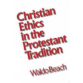 Ética de Christian en la tradición protestante junto a la playa y Waldo
