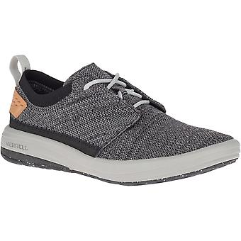 Merrell Mens Gridway Lace Up Casual Breathable Mesh Trainers