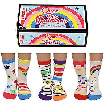 United Oddsocks Over The Rainbow Socks Gift Set For Little People