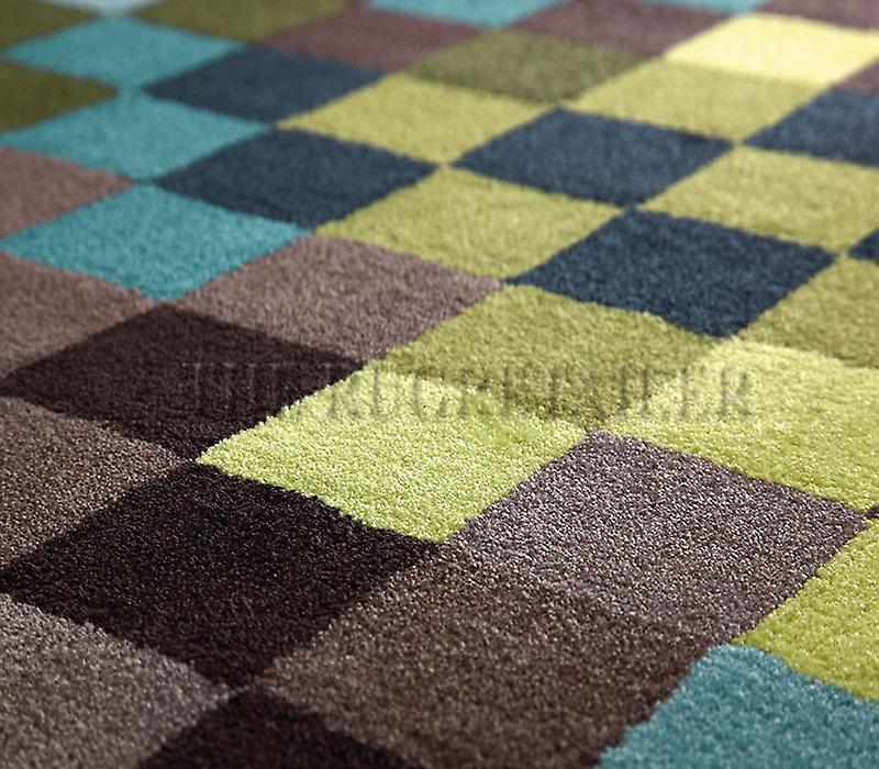 Tapis - Esprit Pixel - 2834/03 Multi Blue & Green