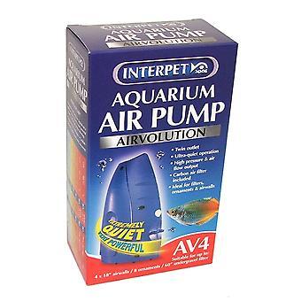 Interpet Airvolution AV4 Aquarium Air Pump