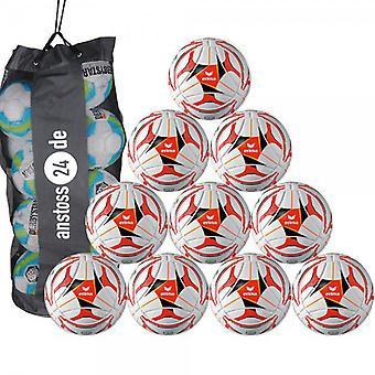 10 x erima training ball Senzor ambition includes ball sack