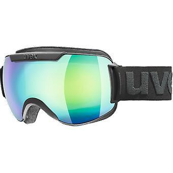Uvex Downhill 2000 FM Black Green Lasergold Lite