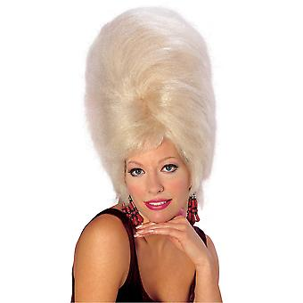 Blonde Beehive 50s 60s Bet Lynch Go Go Mod Girl Retro Womens Costume Wig