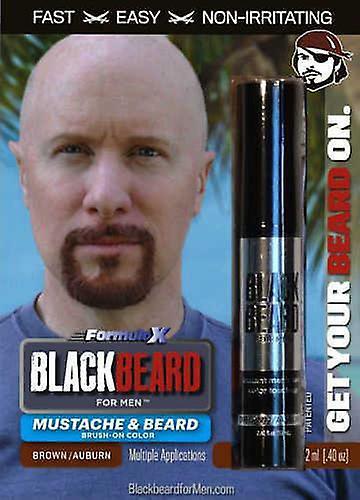 Blackbeard for Men - temporary brush on colour 12ml - Brown / Auburn