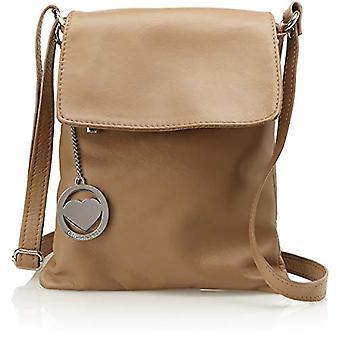 Ccacca Bags Cbc7716tar Women's Shoulder Bag Beige (Taupe) 2x27x23 cm (W x H x L)