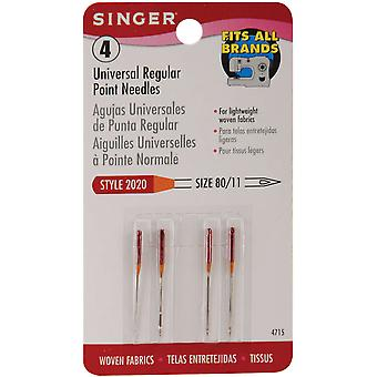 Regular Point Machine Needles Size 11 80 4 Pkg 4715