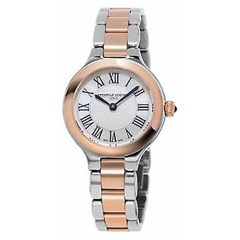 Frederique Constant Classics Delight Womens Metal Bracelet Rose Gold Plated FC-200M1ER32B Watch
