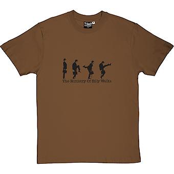 The Ministry Of Silly Walks Men's T-Shirt