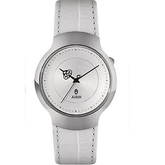 Alessi White Dressed Watch