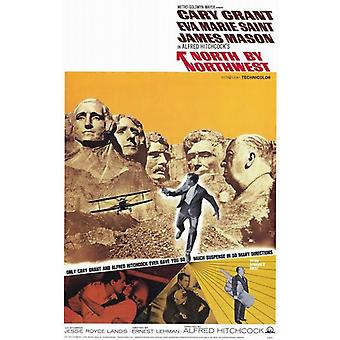 North By Northwest Film Poster (11x17)