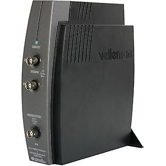 PC scope module Velleman PCSGU250 12 MHz 2-channel 4 null 4 null 8 Bit Digital storage (DSO), Function generator, Spect