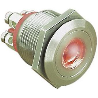 Tamper-proof pushbutton 24 Vdc 0.05 A 1 x Off/(On) ESKA Bulgin MPI001/TERM/RD IP66 momentary 1 pc(s)