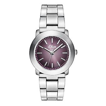 s.Oliver women's watch wristwatch stainless steel SO-2797-MQ