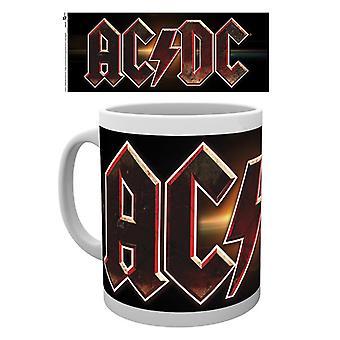 ACDC Logo taza