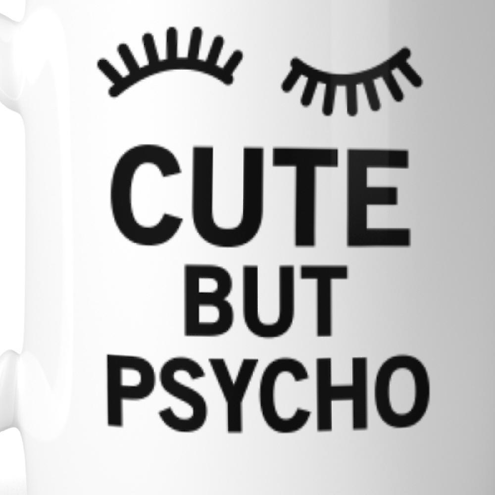 Cute But Psycho Mug Ceramic Coffee Mugs Gift For Christmas Birthday