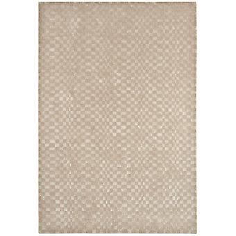Riga Sand Natural Wool & Viscose Modern Rug