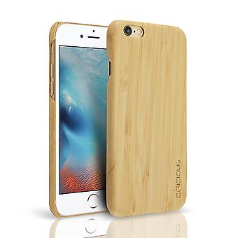Celicious Authentik Apple iPhone 6s / iPhone 6 Natural Wood Back Cover - Bamboo