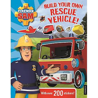 Fireman Sam Build Your Own Rescue Vehicle! Sticker Book (Hardcover)