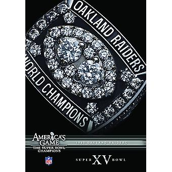 NFL Amerika spil: 1980 Raiders (Super Bowl Xv) [DVD] USA importerer