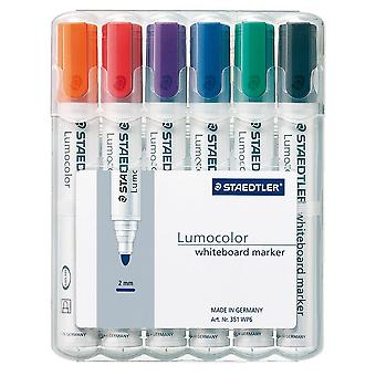 Staedtler Lumocolour Whiteboard Marker Bullet Tip Pack Of 6