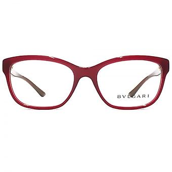 Bvlgari BV4115 Glasses In Transparent Red