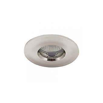 Ansell IP65 MR16/GU10 Die-Cast badeværelse Downlight 50W MR16/GU10 Satin Chrome