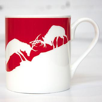 Flamingo Gifts Urban Pirate, Fighting Stags Mug