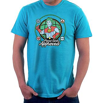 Captain Planet Earth Approved Men's T-Shirt