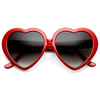 على شكل قلب المرأة المتضخم كبيرة نظارات نظارات أزياء الحب لطيف