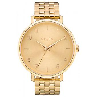 Nixon The Arrow Watch - Gold/Gold