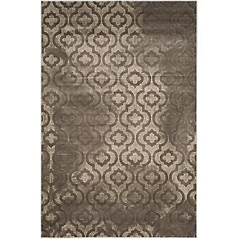 Short-pile woven rug living room indoor carpet grey indoor rugs - Pacific Evergreen grey 70 / 275 cm - rug for the living room inside