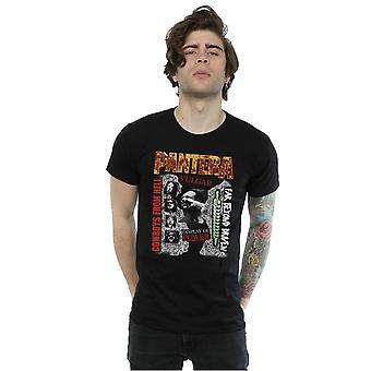 Pantera mænds 3 Albums T-Shirt