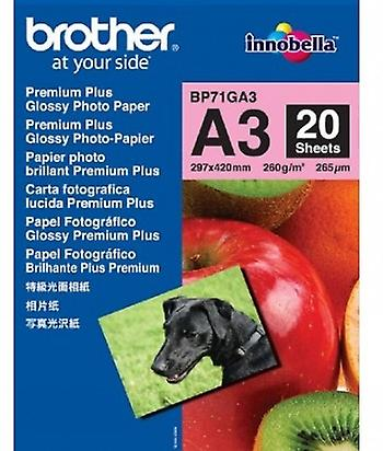 Brother premium plus glossy photo paper A3