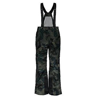 Spyder QUEST dare tailored men's ski pants green camo