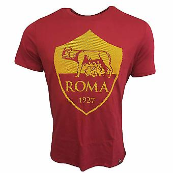 2017-2018 AS Roma Nike Crest Tee (rosso)