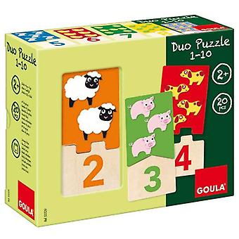 Goula 01.10 Duo Puzzle (Toys , Boardgames , Puzzles)