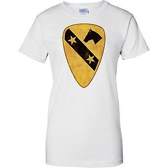 U.S. 1 caballería Vietnam Inignia parche - señoras T Shirt