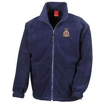 SAR utbildningsenhet broderad Logo - officiella RAF Royal Air Force - Full Zip Fleece
