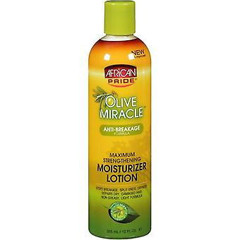 African Pride Olive Miracle Moisturizer Lotion 12oz