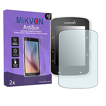 Garmin Edge 520 Screen Protector - Mikvon AntiSun (Retail Package with accessories)