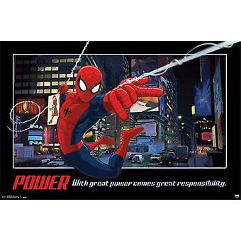 Spider-Man - Power Poster Print