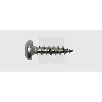 Roundhead wood screws 4 mm 20 mm Torx