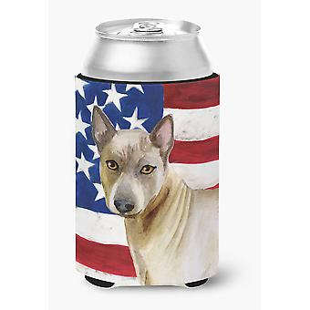 Carolines Treasures  BB9680CC Thai Ridgeback Patriotic Can or Bottle Hugger