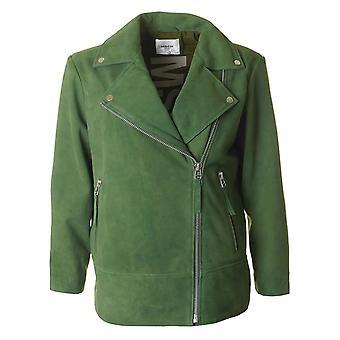 Moss Copenhagen Nahilia ruskind Biker jakke